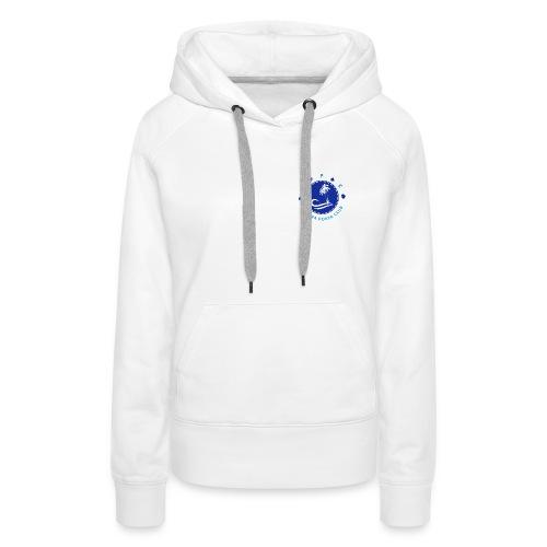 logo3 - Sweat-shirt à capuche Premium pour femmes