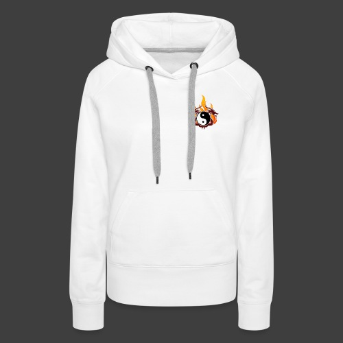 dragons - Sweat-shirt à capuche Premium pour femmes