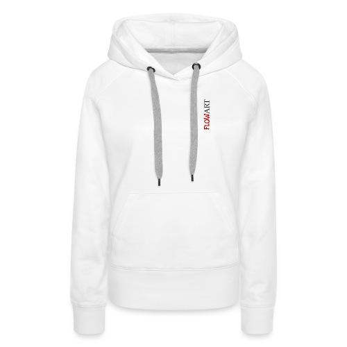 FlowArt - Sweat-shirt à capuche Premium pour femmes
