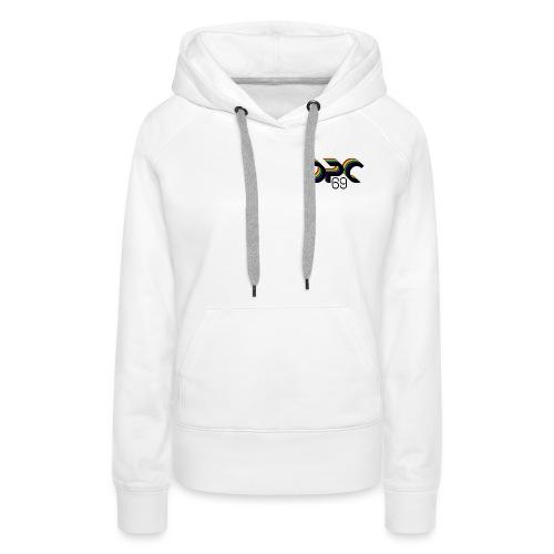 DPC 69 Family - Sweat-shirt à capuche Premium pour femmes