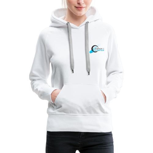 Trance In France White - Little Heart - Sweat-shirt à capuche Premium pour femmes