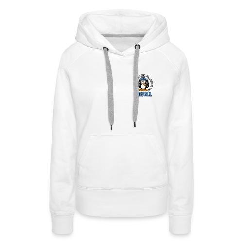 logo_cesma-transparent - - Sweat-shirt à capuche Premium pour femmes