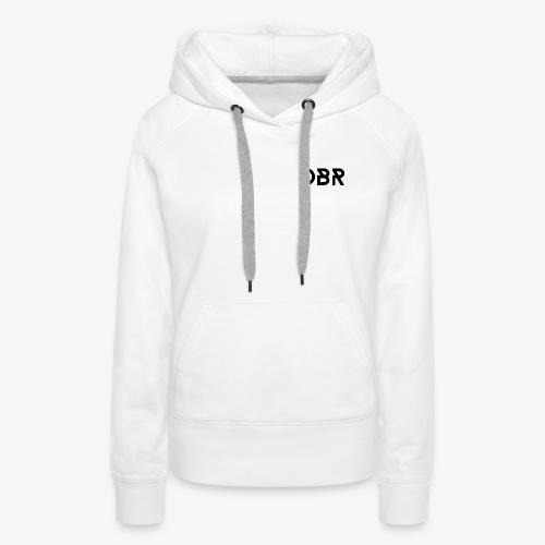DBR Schriftzug png - Frauen Premium Hoodie