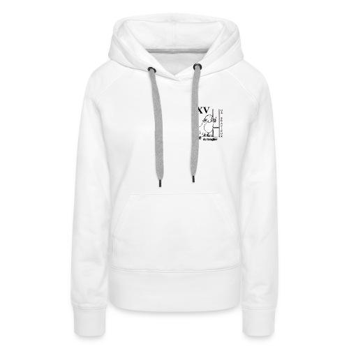USB Transp gif - Sweat-shirt à capuche Premium pour femmes