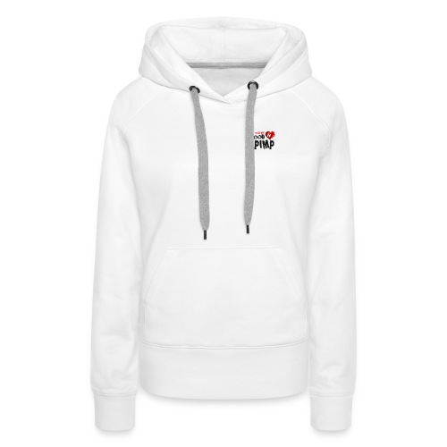 Vegan Food Pimp stacked l - Women's Premium Hoodie