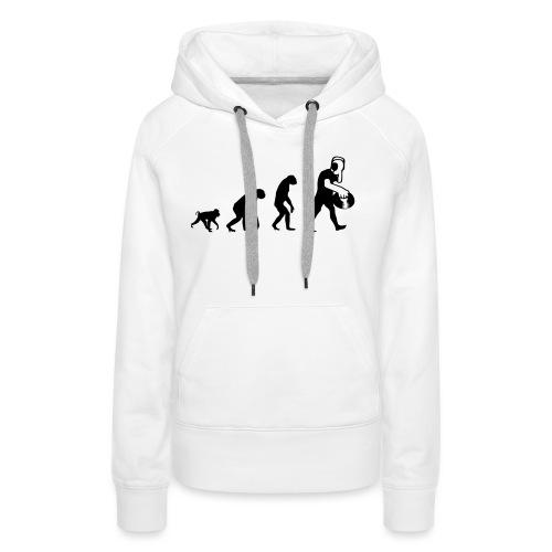 evodj_bethe1 - Sweat-shirt à capuche Premium pour femmes
