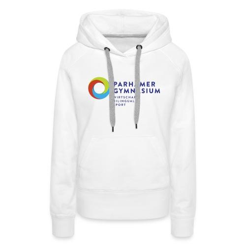 ParhamerGymnasium Logo 2016 jpg - Frauen Premium Hoodie