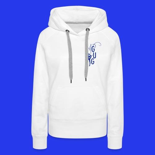 GUG logo - Frauen Premium Hoodie