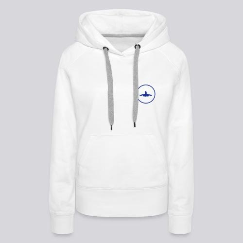 IVAO (Blue Symbol) - Women's Premium Hoodie