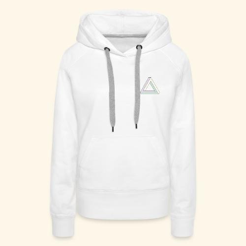 Triangle penrose - Sweat-shirt à capuche Premium pour femmes