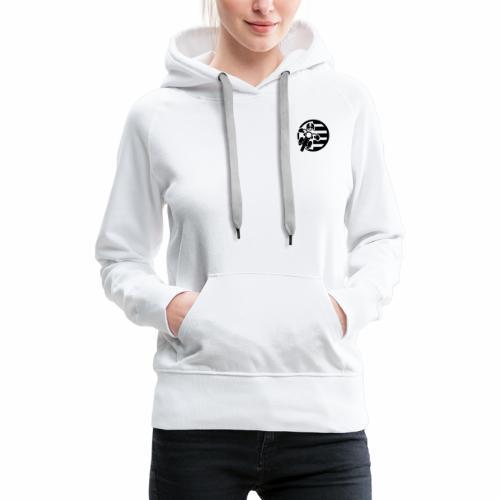 BZH Rider (sans fond) - Sweat-shirt à capuche Premium pour femmes