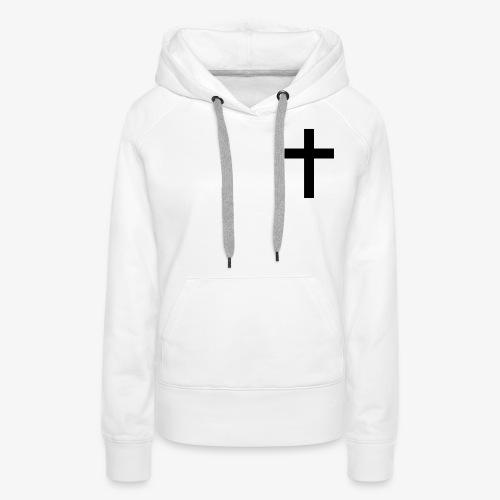 Christian cross - Women's Premium Hoodie