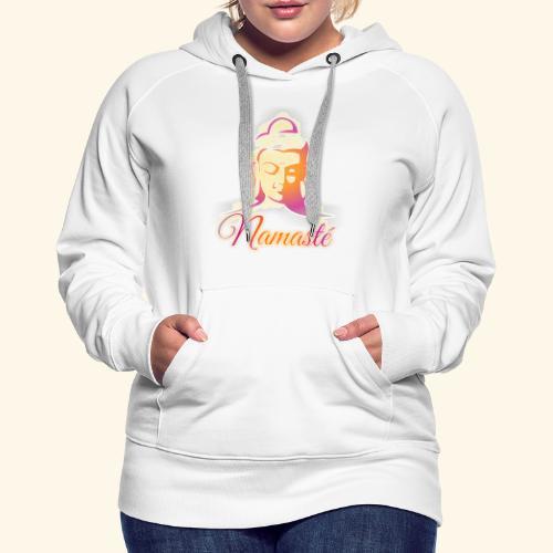 Buddha - Namasté - Frauen Premium Hoodie