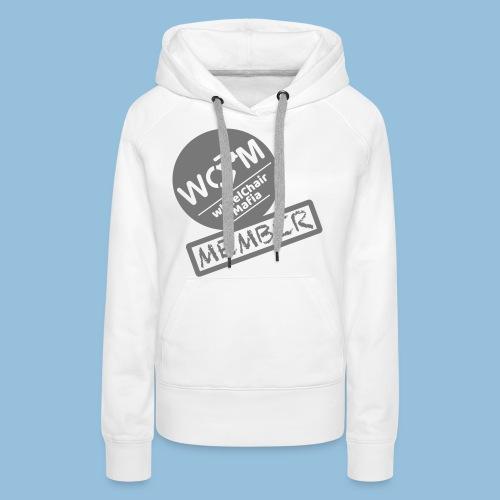 WheelChair Mafia member 001 - Vrouwen Premium hoodie