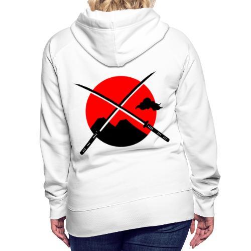 Japan x Levitation 2 - Sweat-shirt à capuche Premium pour femmes