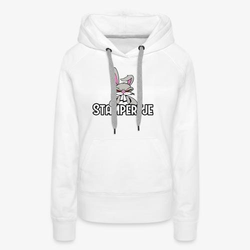 Stampertje Hoodie Vrouw - Vrouwen Premium hoodie