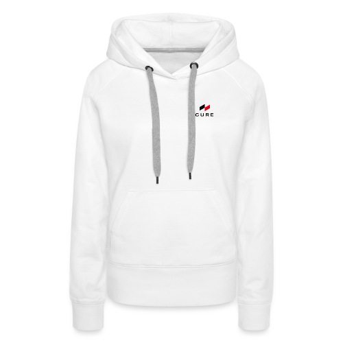 Logo + Text (classic) - Frauen Premium Hoodie