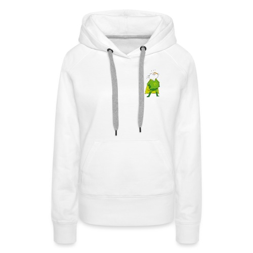 SuperDakota-Vert - Sweat-shirt à capuche Premium pour femmes