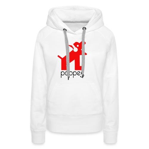 Pappes - Sudadera con capucha premium para mujer