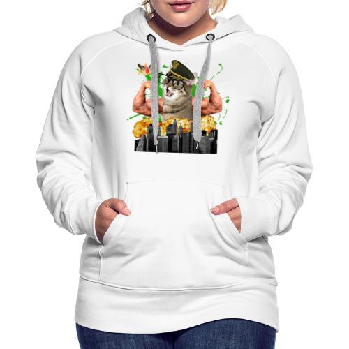 psychocat - Vrouwen Premium hoodie