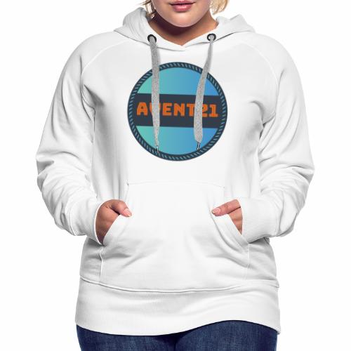 avent21 logo - Women's Premium Hoodie