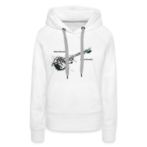 Métal révolte - Sweat-shirt à capuche Premium pour femmes