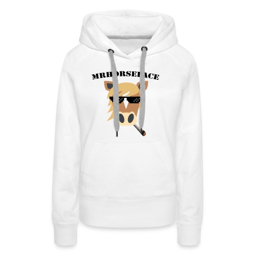 MrHorseFace - Vrouwen Premium hoodie