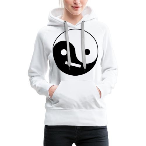 Yin Yang - Sweat-shirt à capuche Premium pour femmes
