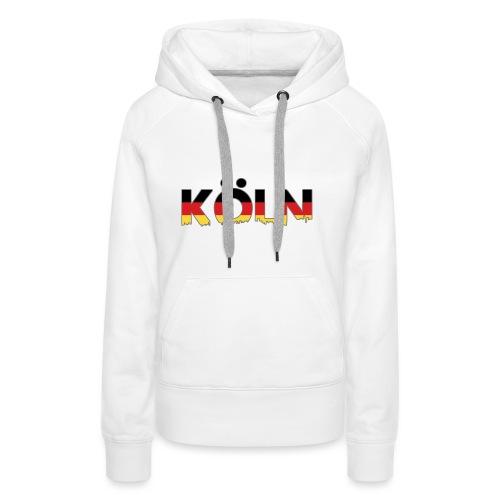 Köln Typografie - Frauen Premium Hoodie