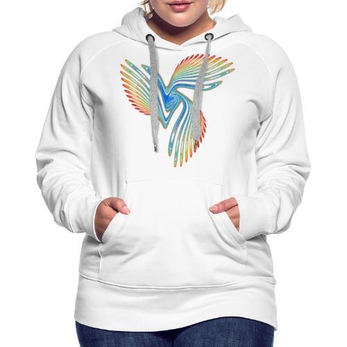 Vogel Paradiesvogel Kakadu Ikarus Chaos 2944j - Frauen Premium Hoodie