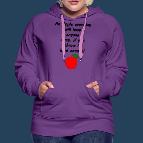 Apple Doctor - Frauen Premium Hoodie