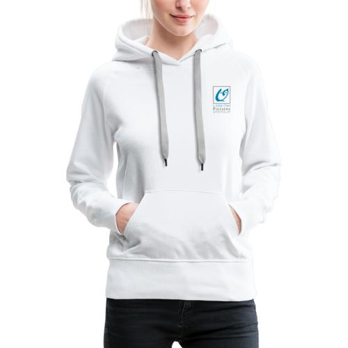 Little Owl Pictures Logo (schwarz/blau) - Frauen Premium Hoodie