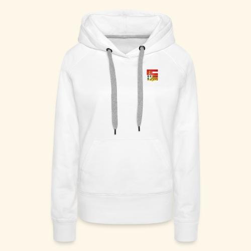 Blason ville de Liege - Sweat-shirt à capuche Premium pour femmes