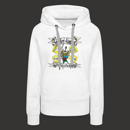 LOGO-SKN14 schwarz - Frauen Premium Hoodie