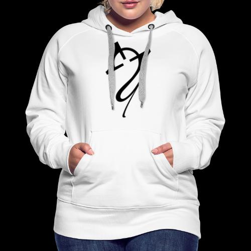 Overscoped Logo - Women's Premium Hoodie