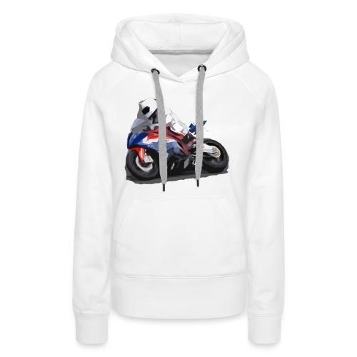 MOTO - Felpa con cappuccio premium da donna