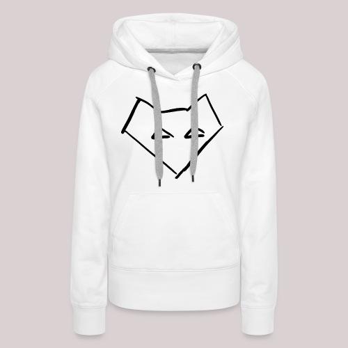 Männer Langärmel Shirt FOX BACKPRINT - Frauen Premium Hoodie