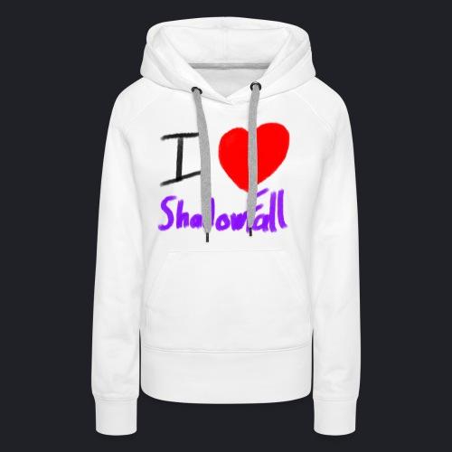 I heart shadowfall - Women's Premium Hoodie