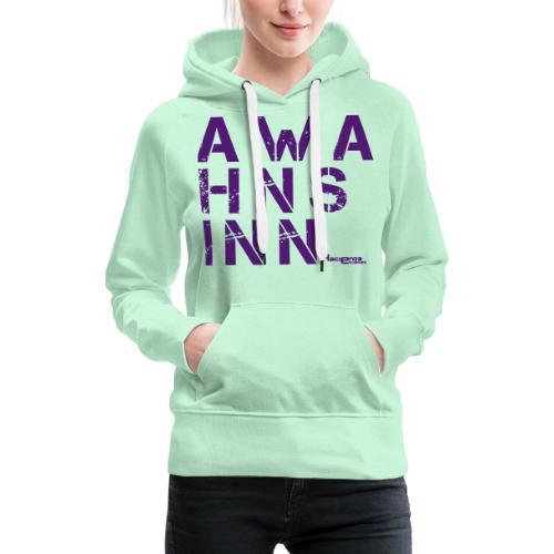 HazyShirt05awahnsinn - Frauen Premium Hoodie