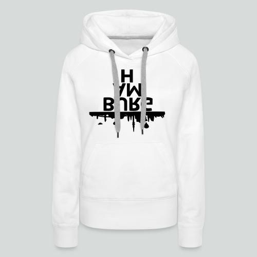 Hamburg - Frauen Premium Hoodie