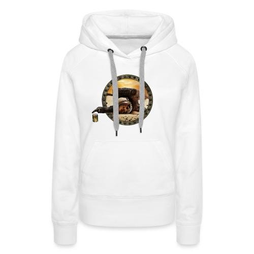 Coup de mou ? (texte personnalisable) - Sweat-shirt à capuche Premium pour femmes