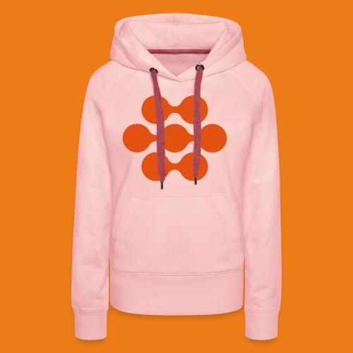 seed madagascar logo squa - Women's Premium Hoodie