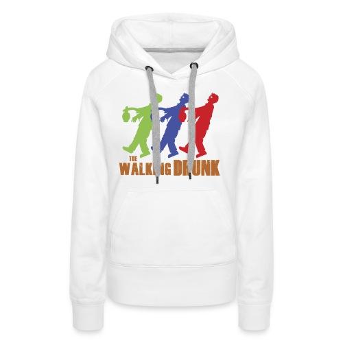 IoOdio ThaWalkinDrunk - Felpa con cappuccio premium da donna