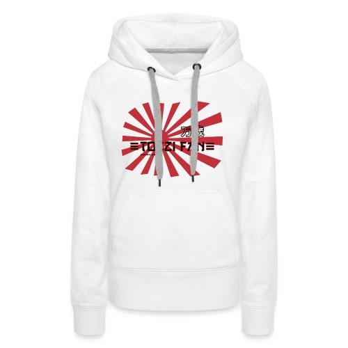 TozziFan White Flag - Women's Premium Hoodie