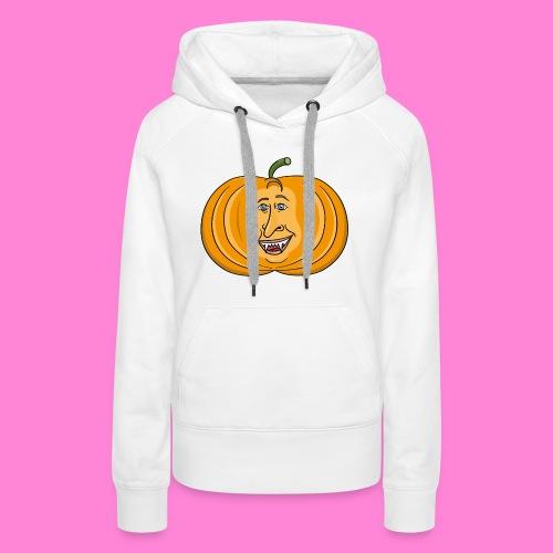Rick pumpkin - Vrouwen Premium hoodie