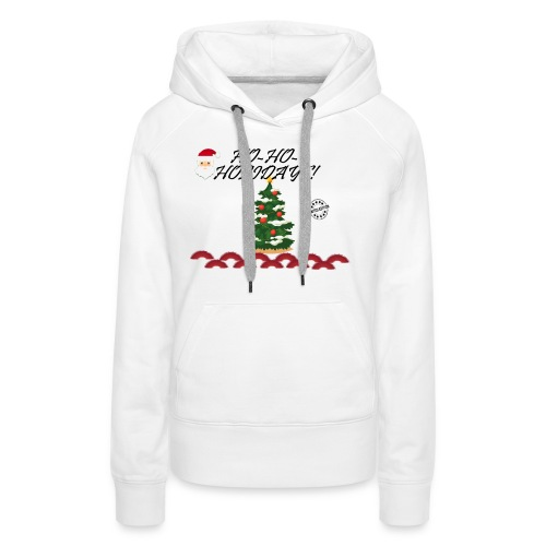 CHRISTMAS - Sudadera con capucha premium para mujer