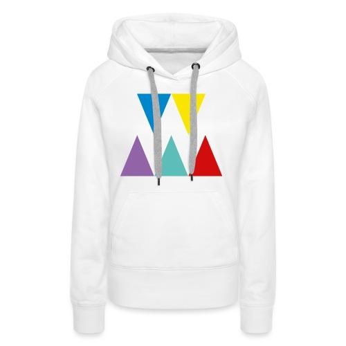 Logo We are les filles - Sweat-shirt à capuche Premium pour femmes