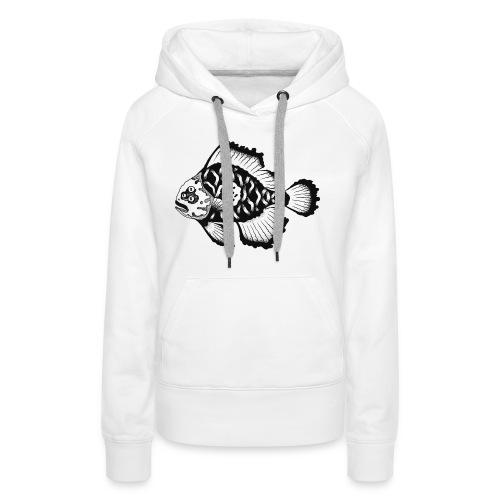 Mutant fish - Sweat-shirt à capuche Premium pour femmes