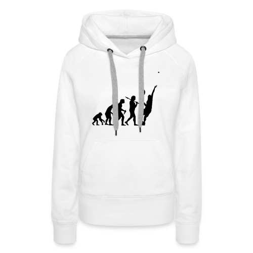 Tennis Evolution - Women's Premium Hoodie