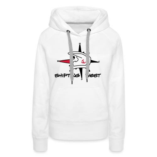 Shifting West Logo vector - Vrouwen Premium hoodie